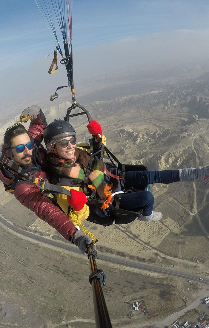 Kapadokya Yamaç Paraşütü - Uçuş Turu